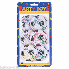 8 Football Soccer Sports Children's Party Favours Gifts Loot Goal Maze Puzzles