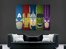 AVENGERS COMIC SUPERHEROES  ART  IMAGE  LARGE WALL POSTER PICTURE