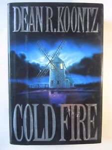 Cold Fire by Dean Koontz (1991, Hardcover) very good