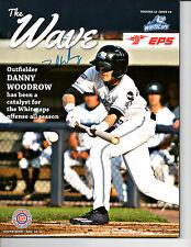 Danny Woodrow hand auto signed 2017 West Michigan Whitecaps program Tigers