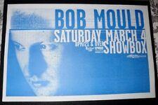 Bob Mould 2000 Seattle Concert Poster 11x17