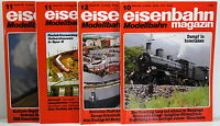 Eisenbahn Magazin - Modellbahn - 1988 Nr. 10,11,12 - 1991 Nr. 11 - 4 Stück