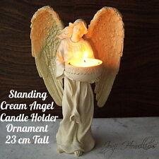 Standing ANGEL Figurine CANDLE HOLDER Ornament Tea Light Holder Home Decoration