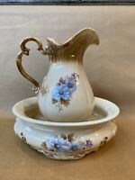 Vintage ROYAL HAEGER Pitcher And Basin 4292 & 4293  USA Respectively