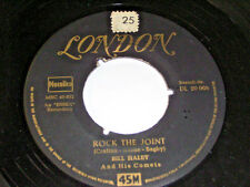"""7"""" - BILL HALEY rock the joint & LIVE IT UP-Londres # 4710"""
