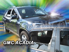 GMC ACADIA 5-portes 2006-présent Deflecteurs de vent 4-pièces HEKO Bulles