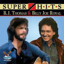 B.J. Thomas, B.J. Thomas & Billy Joe Royal - Super Hits [New CD]