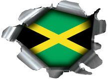 SPEED DEMONS PRIDE BURST STICKER SELF ADHESIVE CAR LAPTOP RIP TORN JAMAICA