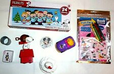 Lot of 8 Child Toys Charlie Brown Puzzle Slinky Colring Play Pack Free Ship