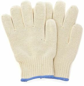 1 Pair Gloves Polyester Heat Resistant Kitchen Oven Cooking Flame Glove Washable