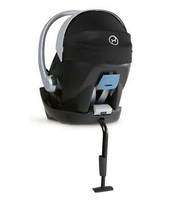 Cybex Aton 5 Car Seat - Deep Black & Base 2 Fix for Aton Car Seats - Black