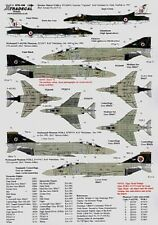 NEW 1:72 Xtradecal X72106 RAF 74 (Tiger) Sqn 1918 to 1992 - 10 Markings Options