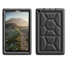 Amazon Fire HD 10 2019 Tablet Case Ultra Grueso Negro suave silicona protectora