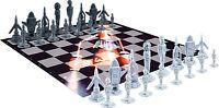 The Thunderbirds Set Echecs 32 Figurine Véhicules-jouets Chess Set Original