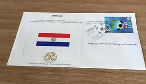 1982 Espana 82 Soccer World Cup Paraguay Fdc