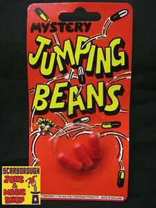 Jumping Beans (3 Pack) ~ Classic Retro Novelty ~ Fun Kid's Toy Stocking Filler