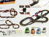 RC My 1st Car Slot Set First Radio Controlled Track & F1 Cars Like Scalextric
