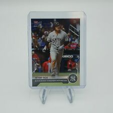 Anthony Rizzo HR in Back to Back Games as Yankee - 2021 MLB TOPPS NOW Card 588