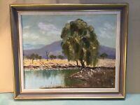 Eileen Raphael Flinders Rangers Oil Framed Painting