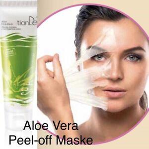 Peel-off Maske Mit Aloe Vera - Nährt die Haut und Reinigt die Poren - 100% Natur