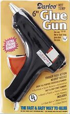 """Full size Hot Glue Gun - Trigger 110v 40w with two 7/16"""" Sticks (Nominal 1/2"""")"""
