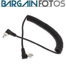 Cable de conexion PC a PC sincro 1,5 metros para flash-ENVIO GRATIS