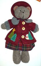 """Vintage Russ"""" """"Bears From The Past"""" #4533 18"""" Bella W/Tag Very Nice"""