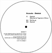 ECOUTE - DEDUB NEW VINYL RECORD