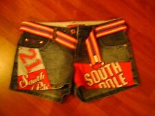South Pole Jean Shorts W/Belt Size 3