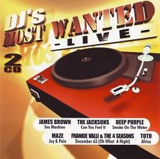 DJ's Most Wanted Live / James Brown Maze Opus Golden Earring Peter Frampton 2CD