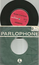 THE BEATLES- 7' - NEW ZEALAND - RED PARLOPHONELABEL NZP 3194 - FULL MIDCENTER