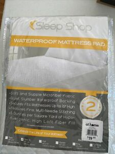 Sleep Shop Waterproof Mattress Pad Twin XL