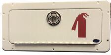 Fire Extinguisher Storage Box with Graphic
