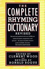 The Complete Rhyming Dictionary Revised: Including the Poet's Craft Book, , Good
