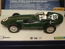 SCALEXTRIC C3404A Vanwall Silverstone 1956 Ltd Edition No. 1447 of 2500