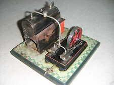 Seltene Zweizylinder (!) Dampfmaschine von Bing 130/242 Dampfanlage