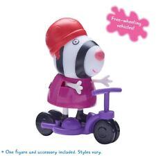 PEPPA PIG Figura e Accessorio Pack-Zoe Zebra e MOTO