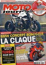 MOTO JOURNAL 2100 HONDA VFR 800 FE FI 750 1200 Dual Carat BMW F800 GT SCHWANTZ