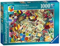 Ravensburger Jigsaw Puzzle MAKE IT MEDLEY - Craft Lovers - 1000 Piece