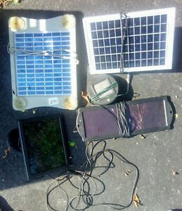USED SMALL SOLAR PANELS LOT AS IS