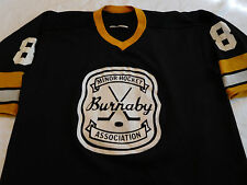 Vintage Burnaby Minor Hockey Association Jersey L Large Cooper