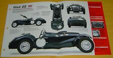 1952 Sydney Allard J2 Race Car V8 Twin Carbs 4375cc IMP Info/Specs/photo