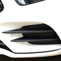 Carbon Fiber Front Fog Light Cover Decoration Trim for Benz A-Class W177 2019