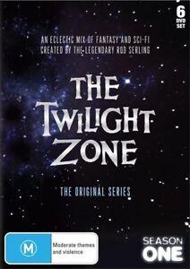 The Twilight Zone - The Original Series : Season 1 (DVD, 2010, 6-Disc Set) NEW