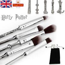 5PCS Harry Potter Wand Makeup Brushes Set mugs Wizard Storybook Mugs Cosmetics