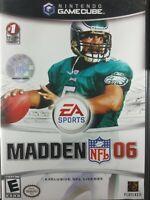 Madden NFL 06 (Nintendo GameCube, 2005) CIB Complete TESTED
