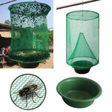 Reusable Green Fly Catcher Killer Cage Net Trap Insert Bug Pest Hanging Folding
