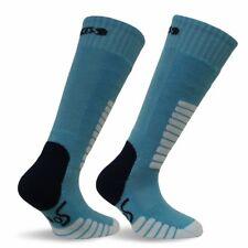 EUROSOCKS Child Ski Supreme Junior Sock Unisex Turquoise XXX-S (Child 10-13) NEW