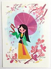 "Disney WONDERGROUND ""MULAN"" Postcard by Joey Chou"