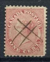 Kanada 1859 Mi. 10 Gestempelt 80% 1 C, Königin Victoria